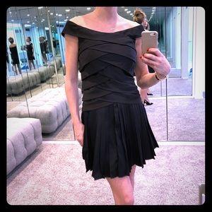 Ted Baker London black silky dress size 1uk (4us)
